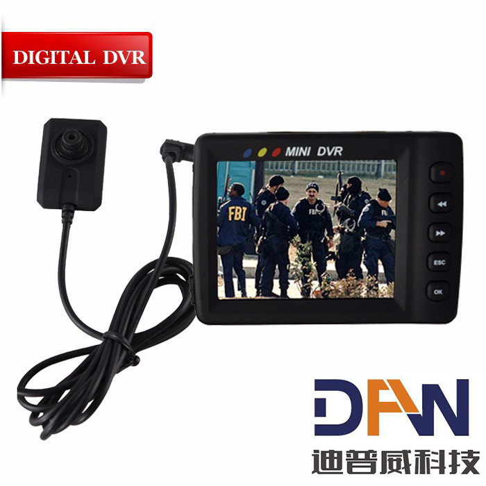 760A Mini LCD with mobile HD real time video camera detection mini DVR