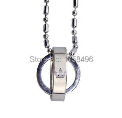 Anime Kingdom Hearts 47cm Alloy Silver Necklace Cosplay Costumebuy Free Shipping