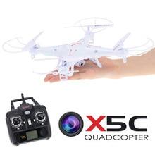 SYMA x5c x5c-1 гироскопа RC Quadcopter Drone дистанционного вертолет Квадрокоптер с Камера 2.0mp MultiCopter RTF