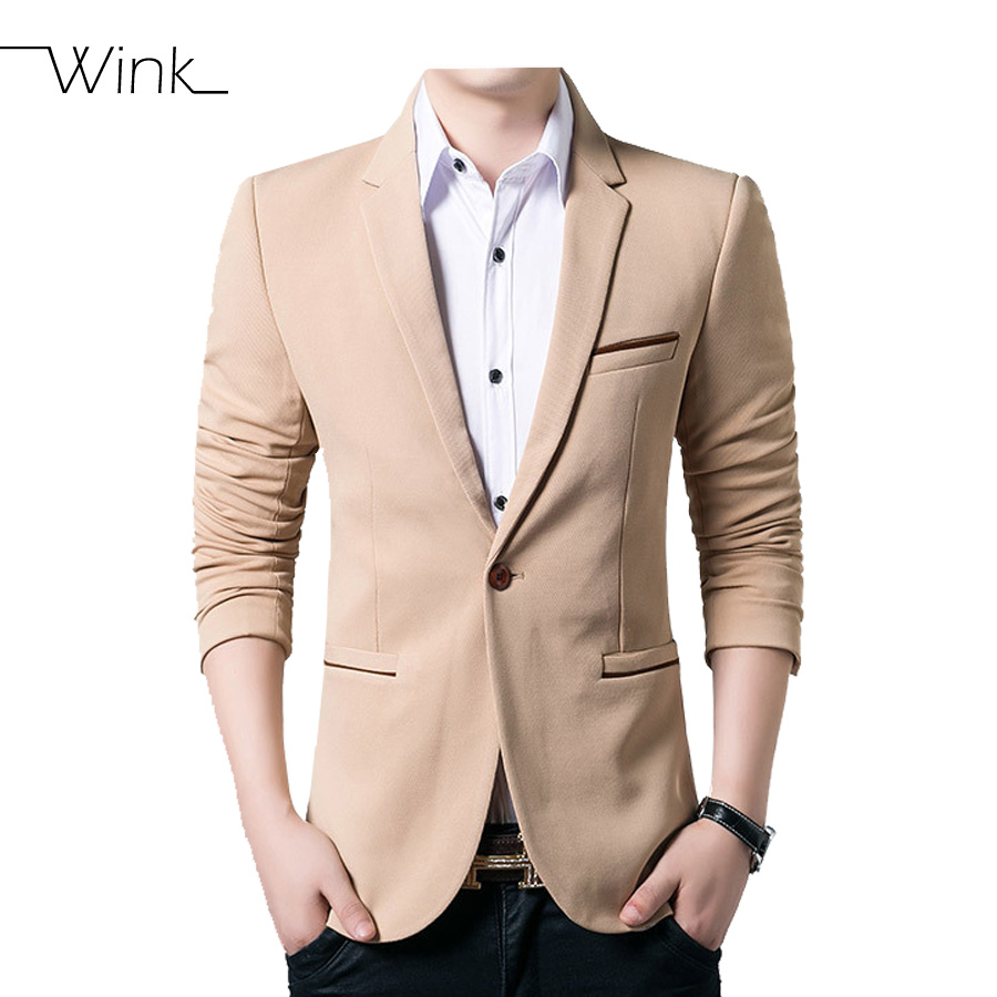 Mens Wedding Dress Suit Blazers Single Button Slim Fit New Arrival Brand Clothing  Plus Size 5XL Casual Coats Male Costume E469-in Blazers from Men s ... 911b7792927a