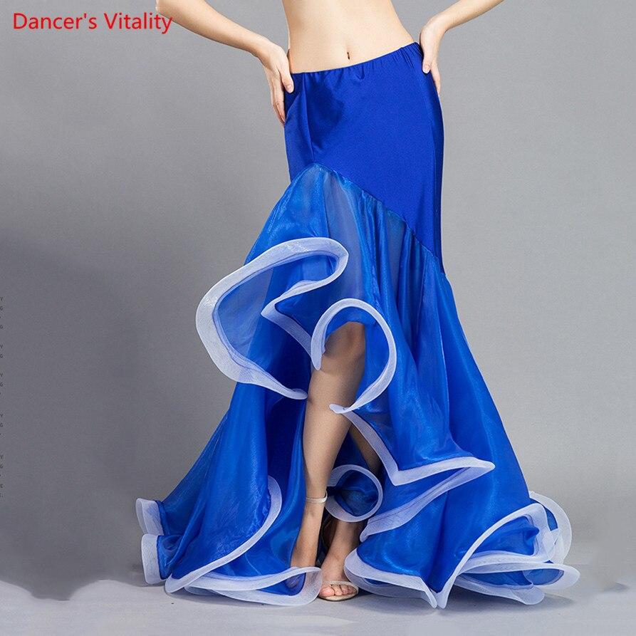 Hot Sale! New Belly Dance Skirt Women Sexy Belly Dance Clothes Skirt Belly Dance Performance Skirt 3 Colors Lady Dance Skirt