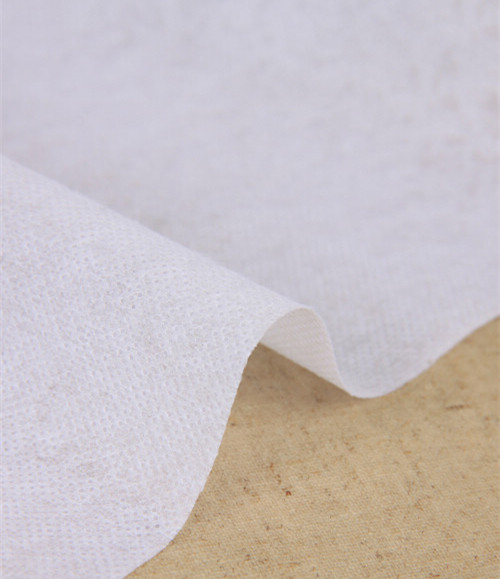 80g/Meter 100cm*100cm  Interlining Iron-On Fusible White Non Woven Interface Filling Wadding