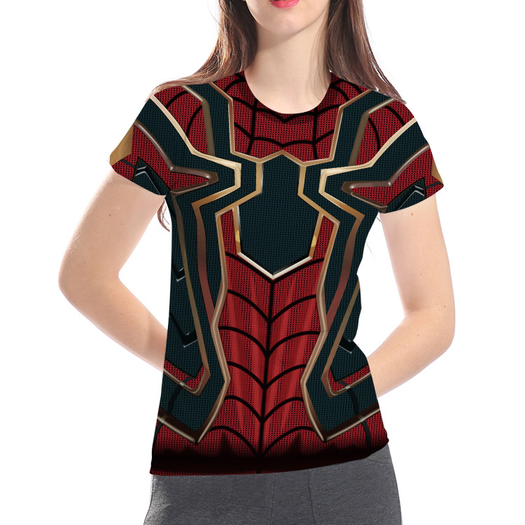 SPIDERMAN T-SHIRT Mens Superhero Marvel Peter Parker Unisex Top Tee