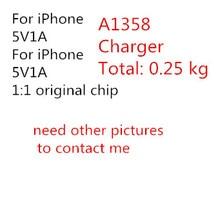 цена на 10pcs/AAAAA Quality USB  25 Gram Foxconn original A1385 US Plug Wall Adapter 1:1 5V1A AC For iPhone x 8 7 6s 6 plus 5S 5C 5