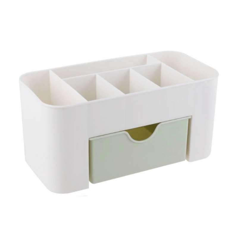 SDFC-Mini Desktop Makeup Storage Box Cosmetic case Lipstick Cases Sundries Case Small Objects Box Wholesale Desktop Organizer