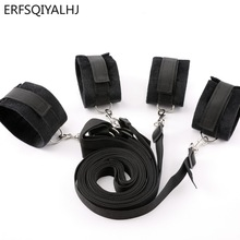 Sex Handcuffs for Sex Bdsm Bondage Set Adult Games Hands and Feet Adult Handcuff Erotic Games Sex Toys for Woman Sex Accessories zerosky adult games bdsm bondage padded leather cuffs handcuff collar restraint sex toys for women men adult games