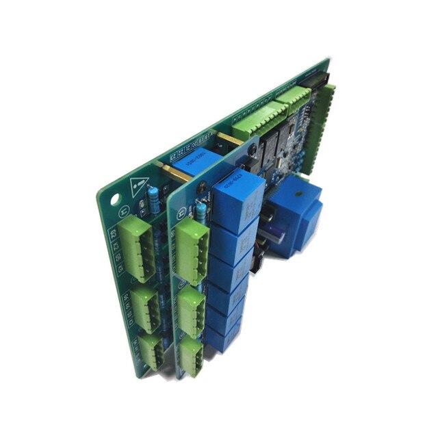 Régulation de tension en boucle ouverte/tension constante/contrôle de courant constant 12 carte de déclenchement de régulateur de puissance scr à 3 phases
