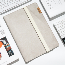 TIASNE folder V-Kraft Washed Kraft Paper A4 Multi-Purpose Documents Pouch A4 A5 IPAD-minibusiness card(31.5*23*1.5)TS-4504