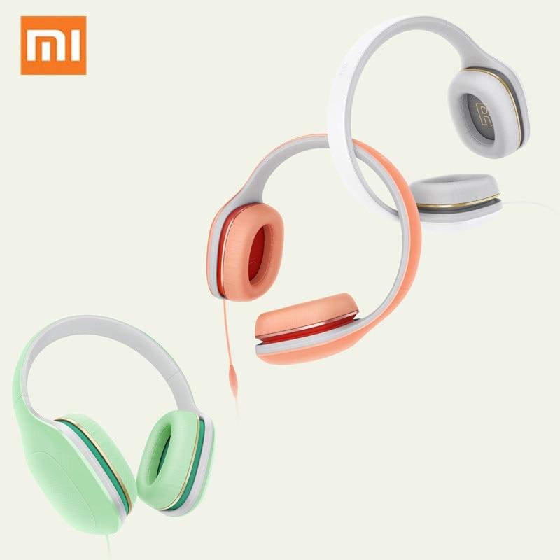 Original Xiaomi Mi Headphone Easy Version 3 5mm Wired With Microphone Volume Control Earphone Hands free