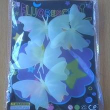 1 Set Kawaii Luminous Toy Butterfly Glow In The Dark Toy Baby Nursery Children Gifts