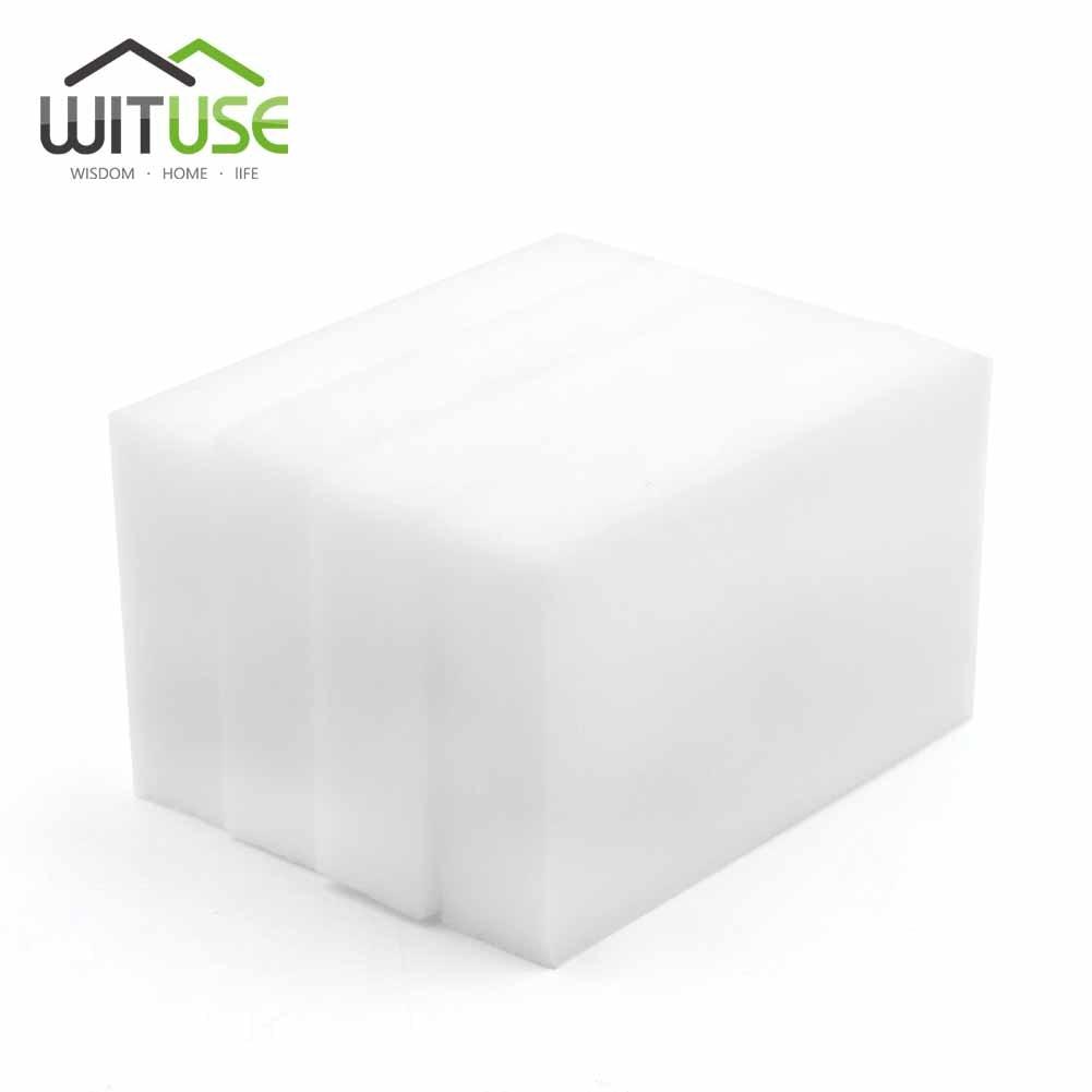 50/100PCS Magic Sponge Melamine Eraser Home Nano Clean Supplier Household Kitchen Eraser Dish Washing Melamine Clean