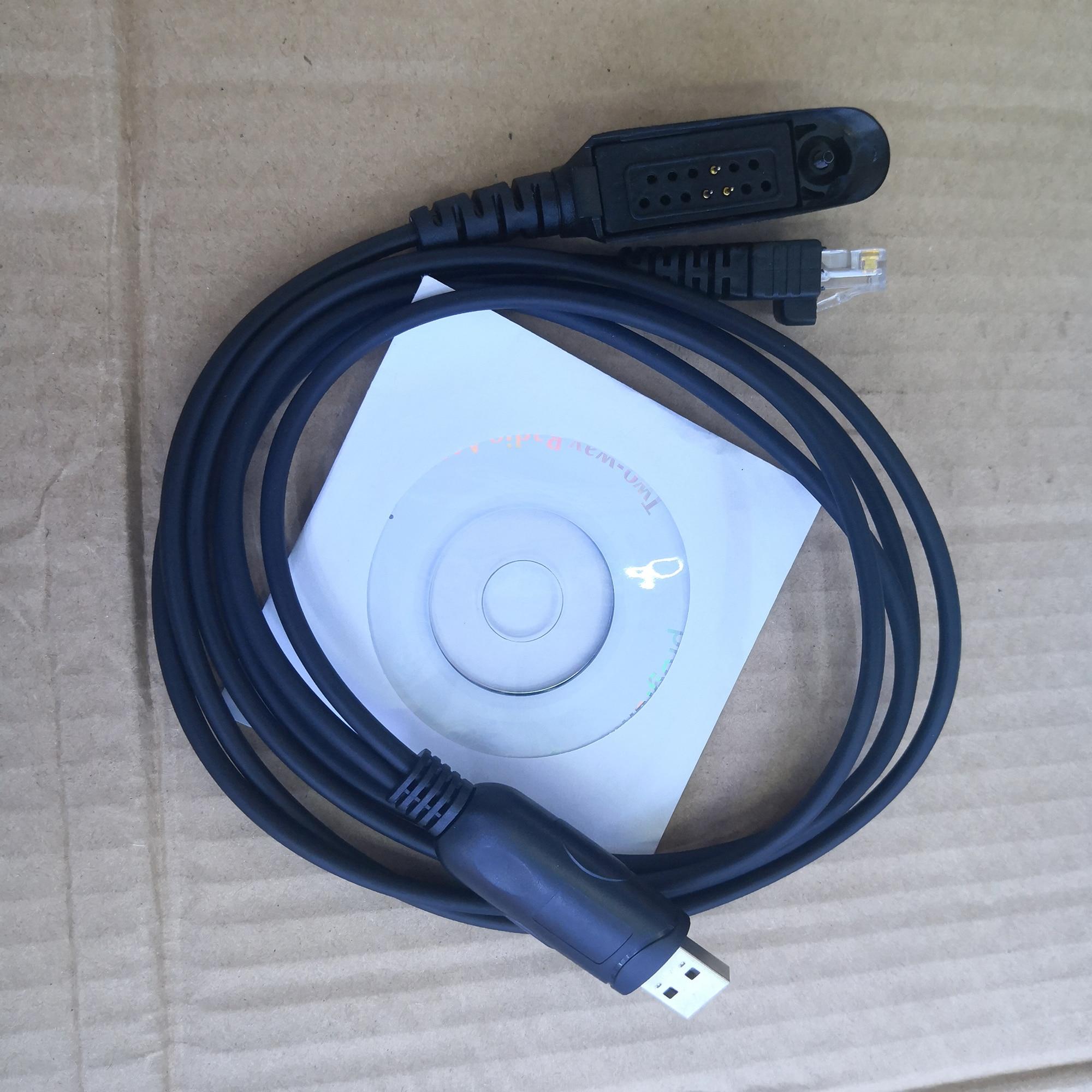 2 In 1 Muilt-function USB Programming Cable For Motorola Gp328,gp338,gp340 PRO5150 Walkie Talkie GM338,GM3188,etc Car Radio
