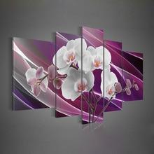 Hochwertige Moderne Abstrakte Ölgemälde auf Leinwand Kunst gruppe ölgemälde dekoration 5 teile/satz DY-093C