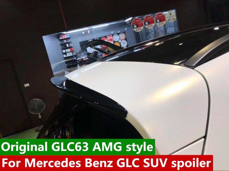 For Mercedes Benz GLC SUV car spoiler Original GLC63 AMG style for benz W253 glc 200 glc260 glc300 suv spoiler