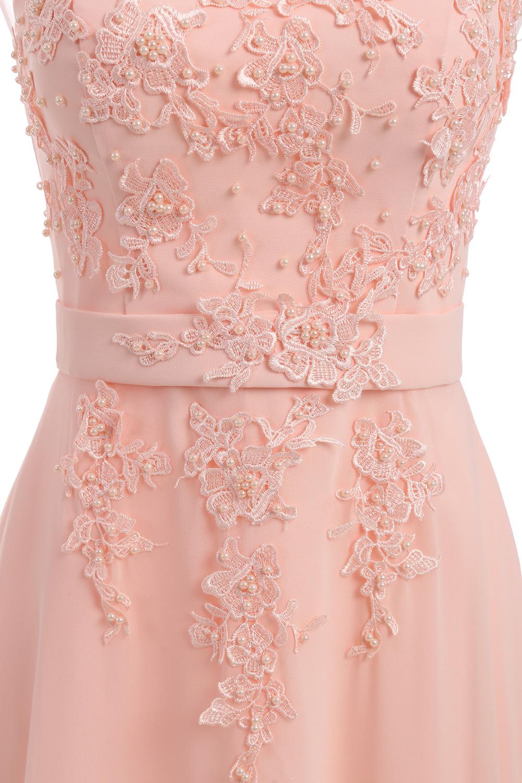 Floor-Length Chiffon Long Bridesmaid Dress Gown 2017 New Fashion Formal Bridesmaid Dresses 4