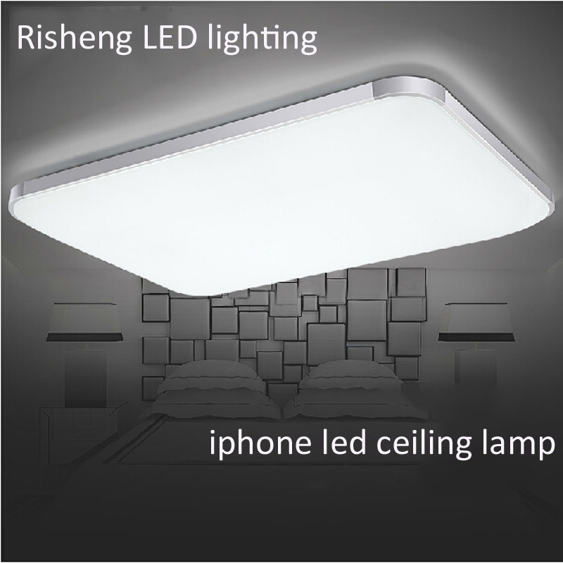 ФОТО (EICEO) New Product Modern LED Ceiling Lamp Square Surface Mounted Light Epistar LED Chip Energy-Saving Can Discuss