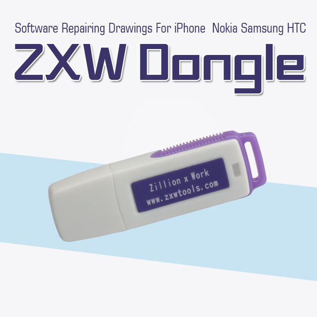 Original Zillion x Work ZXW DONGLE Repair mobile phone circuit board