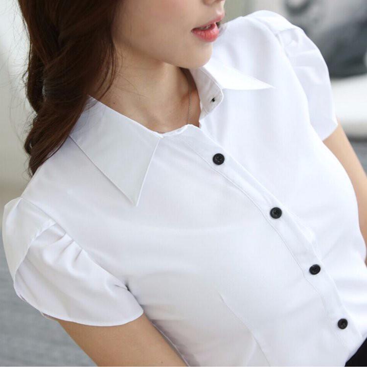 HTB1LgAhLXXXXXcwaXXXq6xXFXXXQ - Casual Blouse Long Sleeve Femininas Ladies Work Wear Tops Shirt