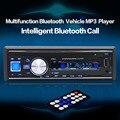 1068 Estéreo de Bluetooth del Jugador 1 Din Radio Del Coche AUX-IN MP3 FM/USB/Manos Libres con Control Remoto 12 V Audio Del Coche Del Coche electrónica