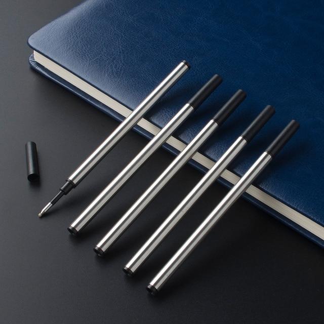6Pcs / Lot Jinhao Baoer Hero roller ball Pen Refills ballpoint rollerball pen refill for Writing factory Wholesale 3