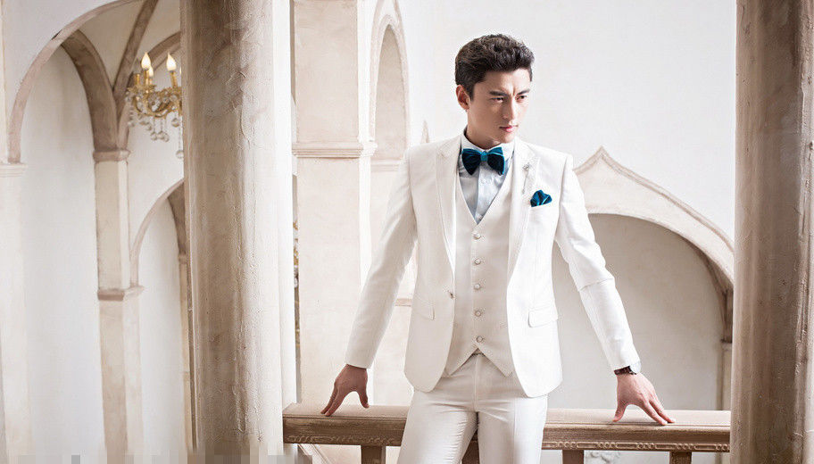 veste De Homme Slim Picture as As Pantalon Gilet Formel Beau Personnalisé Pour Fit Smokings Papillon Blanc Blazer Costumes Terno Noeud Mariage Mouchoirs Hommes Picture qqr07
