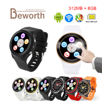 Heart Rate Android 5 1 Smart Watch Phone GSM 3G WCDMA ZGPAX S99 Quad Core 4GB