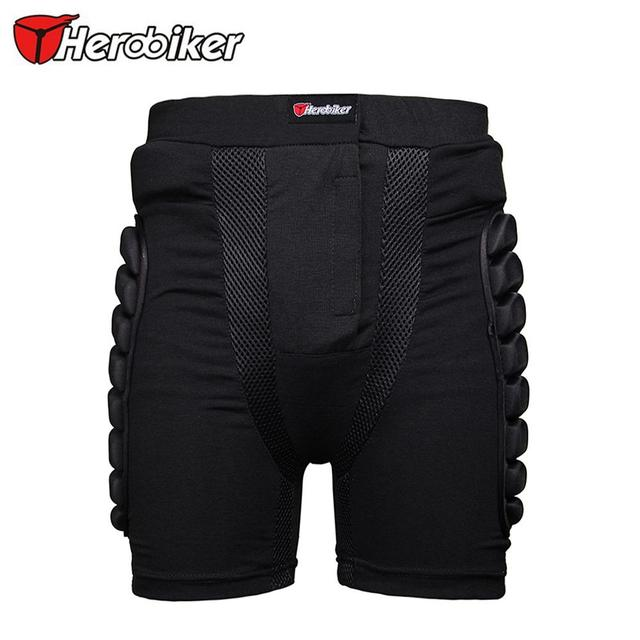 HEROBIKER Unisex Ski Snowboard Skating Skateboard Protective Gear Hip Butt Pad Extreme Sport DH MTB Bike Protection Armor Shorts