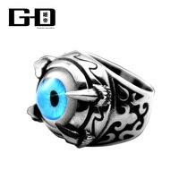 Всевидящее Око Провидения Бог глаз кольцо Для мужчин Jewelry Титан Сталь кольцо с подарочной коробке