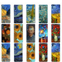 Caso Para Samsung Capa Samsung Galaxy A50 A50 A60 A10 A30 A40 A70 UM 50 2019 A9 A7 2018 o renascimento Van Gogh pintura a óleo