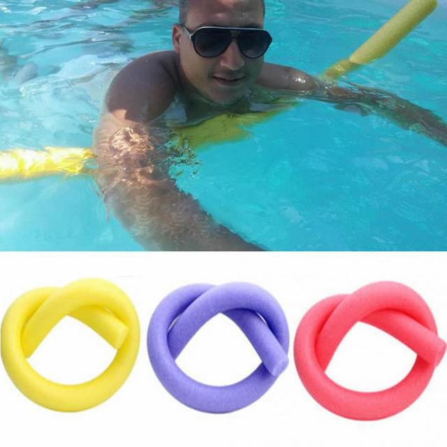 e11b8c39835da Swimming Floating Foam Sticks Swim Pool Noodle Water Float Aid Noodles Foam  Floatings