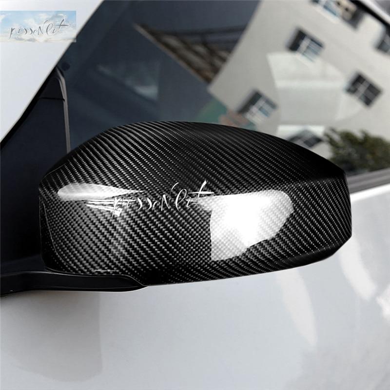 For Nissan 350Z Z33 Carbon Fiber Side Mirror Cover Exterior Accessories Trim