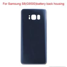JPFix для Samung Galaxy S8 G9500 G95F Задняя стеклянная крышка батарейного отсека чехол с клеем