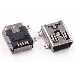 10 шт. Mini USB SMD 5-контактный гнездовой разъем Mini B