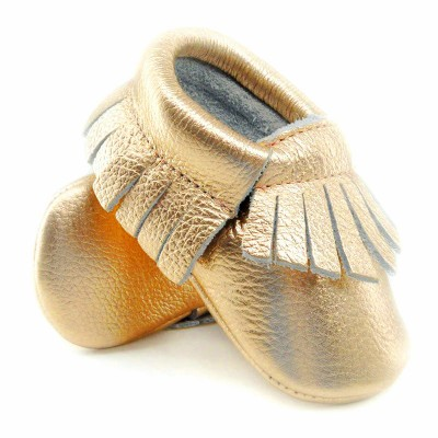 16color-New-Shine-Pink-Genuine-Leather-Baby-moccasins-First-Walkers-Soft-Rose-gold-Baby-girl-shoes-infant-Fringe-Shoes-0-30month-2