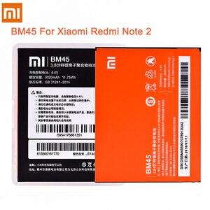Image 3 - Original Battery BM42 BM45 BM46 BN41 BN43 For Xiaomi Redmi Note 2 3 4 4X Hongmi Note2 Note3 Note4 Li ion Replacement Batteries