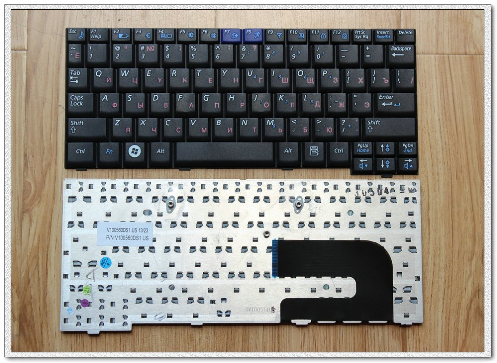 New Russian Laptop Keyboard For Samsung NC10 N110 N128 N140 ND10 N130 RU Laptop Keyboard black for sony vpceh35yc b vpceh35yc p vpceh35yc w laptop keyboard