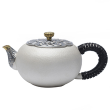 Silver Bottle Teaware Teapot Household Kung Fu Making