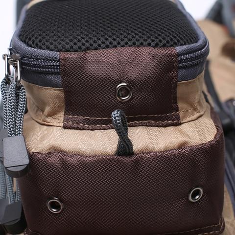 pesca com mosca colete pacote para equipamento