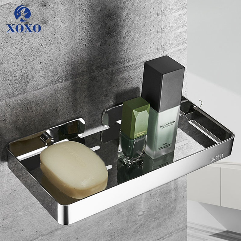 XOXO Bathroom Accessories Soap Dishes Wall Mounted Bathroom Soap Dish 304 Stainless Steel High quality Soap Basket ZD005/ZD006