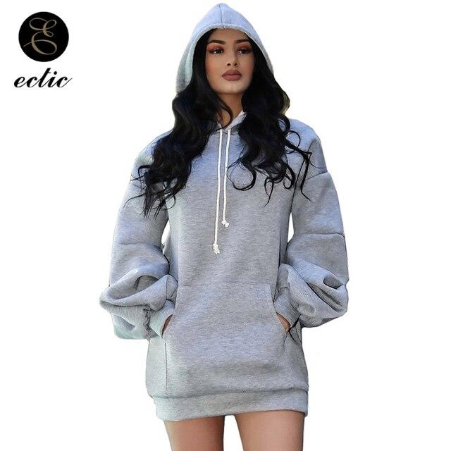 Winter Pullover Sweatshirts Womens Warm Poleron Mujer 2018 Rave Long Sleeve Tunic Hoodies Korean Oversized Hoodie Kpop Blackpink