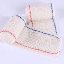 5CM X 4.5M Elastic Spandex Bandage Medical wrinkle Cotton Bandage First Aid Kit Accessories 5 Kinds Size Outdoor Survial Tool