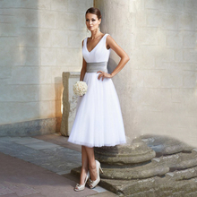 Party Dress White M-5XL Plus Size Knee-length Dresses 2019 New Summer V Neck Sleeveless Slim A Line Vestido Feminina LR117