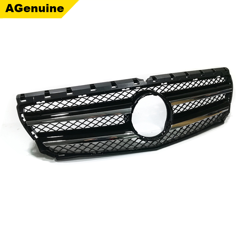 Chrome Glossy Black ABS Facelift Car Front Bumper Radiator