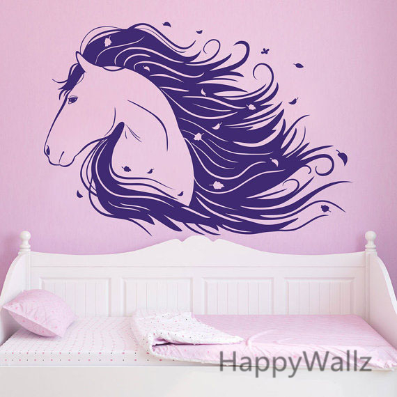 Marvelous 3D Horse Wall Decals Modern Horse Wall Sticker DIY Decorative Animal Wall  Decor Removable Wall Art Stickers A21 In Wall Stickers From Home U0026 Garden  On ...