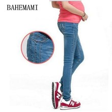 Maternity Jeans Pants For Pregnant Women Plus Size Clothing Pregnancy Clothes 2018 autumn Maternity pencil Pants