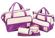 Продвижение! 5 шт. мумия сумка для ребенка подгузников сумки много цветов бесплатная доставка