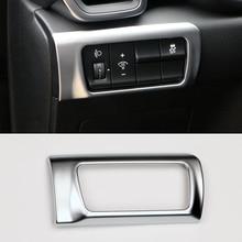 ABS хром фар кнопка регулировки крышка наклейка отделка Внутренняя отделка для Kia Sportage на 4 КЖ 2016 2017 автомобиль-стайлинг