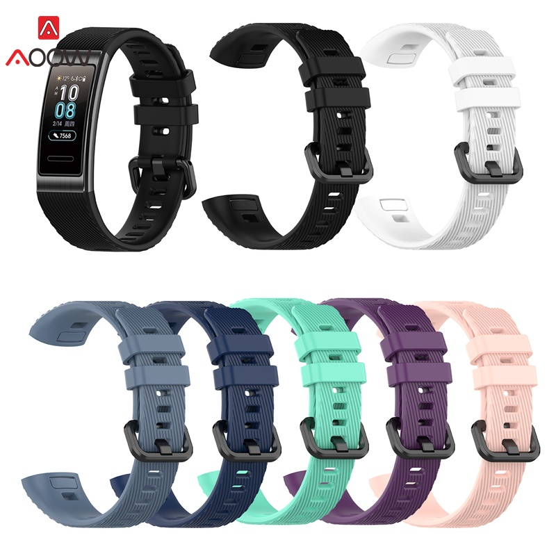 Sport Watch Strap For Huawei band 3 pro Smart Watch Band Replacement Silicone Sport Wrist Bracelet Watchband Fashion Waterproof