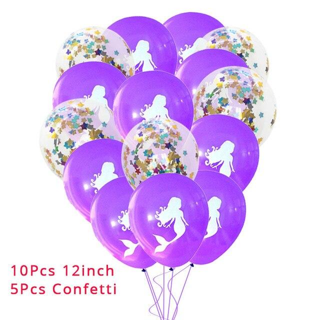 10Pcs Tiffany Blue Mermaid party plates 5c64f5cb314ca