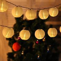 30 LED Lantern Ball Solar String Lights Outdoor Lighting Solar Lamp Fairy Globe Christmas Decorative Light